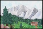 Mountains by Okammie
