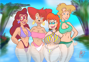 Milfs on vacation! by mistersnow