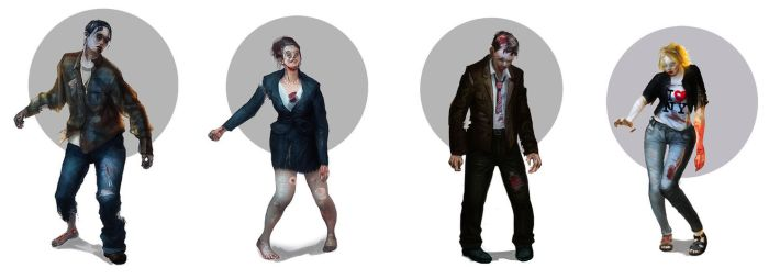 Zombies by Chr-Steam