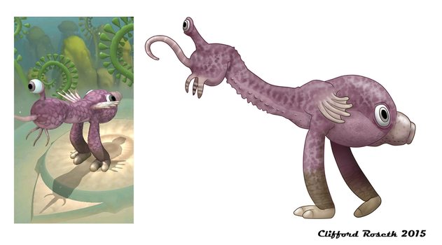 Spore Creature by Clawedfrog