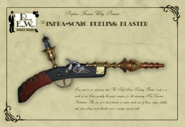 The Infrasonic Dueling Blaster by davincisghost