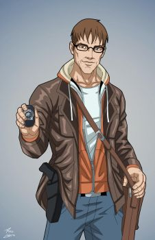 Jason Bard (Earth-27) commission by phil-cho