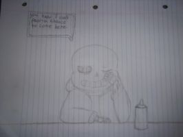 SANS WHY ARE YOU HERE AT THIS TIME?! by FNOKitty
