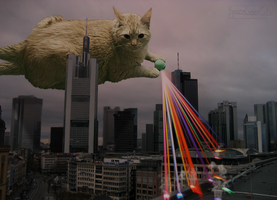 Alien Disco Attack by SpaceLaserCats