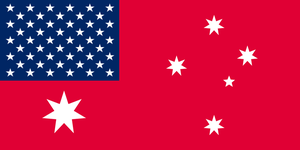 American Australia - red ensign by TheFlagandAnthemGuy