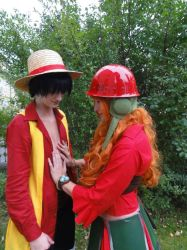 Luffy and Nami Movie Z Cosplay One Piece by Lucy-chan90