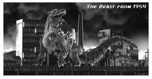 The Beast From 1954 by LDN-RDNT