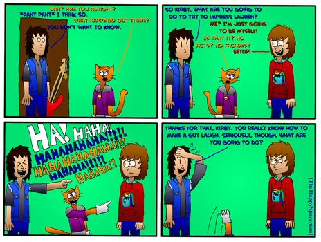 Dan Comics No.61 - New Girl in Town 14 by The-Happy-Spaceman