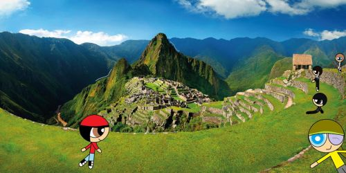 Me and My friend's Vacation- Machu Picchu by Oscargreget