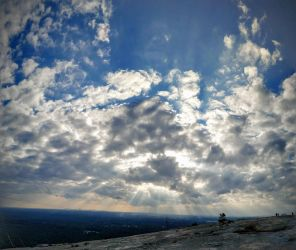 Panoramic from Stone Mountain by Supuhstar