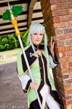 Martel the Goddes-Tales of Symphonia Cosplay by Apple-Gel