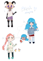 [3/3 OPEN] BNHA Adopts