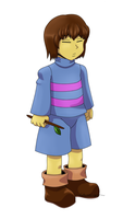 Frisk by GhostLiger