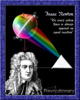 Isaac Newton Poster by BrittanysDesigns