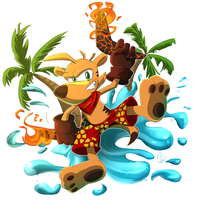 Comm.: Ty The Tasmanian Tiger by S-concept