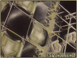 Pastel-Charcoal: Revolution by LifeVirus