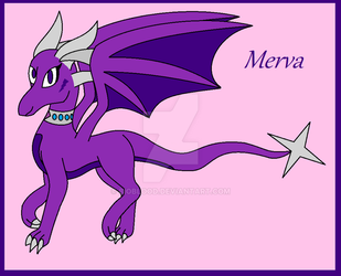 Merva the Dragoness by Bioblood