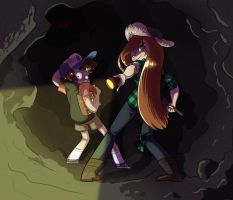 Into the Bunker by AnsleeCake