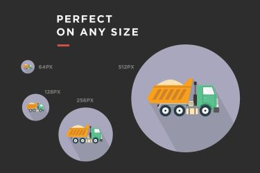 Perfect-any-size Jumbo Icons 1500 detailed icons by jumboicons