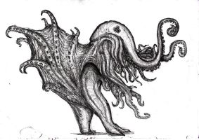 Lovecraft - Great Cthulhu/ Spawn of Cthulhu by KingOvRats
