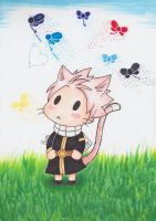 Neko-Natsu and the seven fairies by CrystalMelody-FT