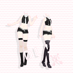 .:MMD:.Tda Outfit 2.0 DL! by YooMi14