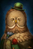 Owl Remus by 47ness