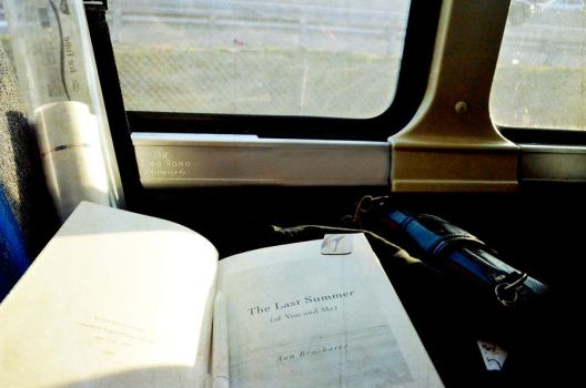 On a trip with a Book by imilee