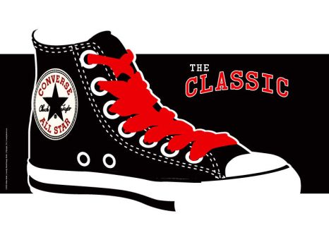 The Classic - Chuck Taylor's by InsanityShack