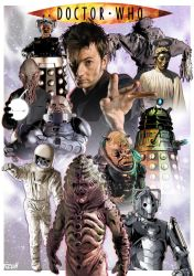 Tennant Monsters all new A4 Complete by jlfletch