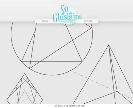 Brushes - Triangle by So-ghislaine