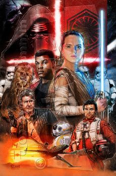 The Force Awakens!! by jonpinto