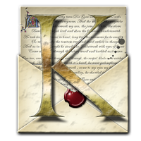Steampunk Kindle Open Envelope Icon by yereverluvinuncleber