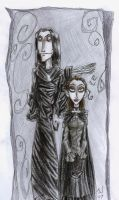 Aro and Jane by ZePencilPirate