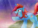 One Day I will fly to the Moon! With Speed-Paint! by JB-Pawstep