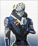 Garrus by InvaderLi