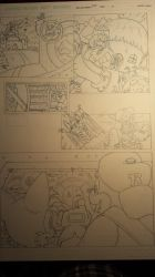 sonic comic origins rotor pencils pg3 by trunks24