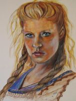 Lagertha Lothbrok by YvyB13