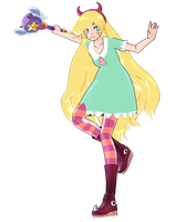 Star Butterfly Render by Vex2001