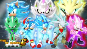 Dragon Ball SuperX Sonic the Hedgehog Wallpaper by FantasticFroakie03