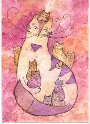 Kitty-cat by StaceyTram