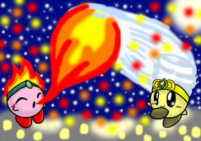 Attempt Firework - Result Confetti by KirbyPuffball