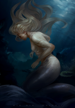 Into the depths by RinRinDaishi
