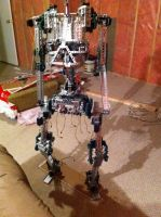 IRL Freddy Fazbear's Endoskeleton Front View by project-87