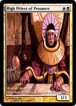 High Priest of Penance by Ammianus