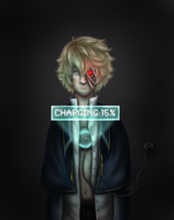 Vocaloid: Charging. by RavenWingsFly