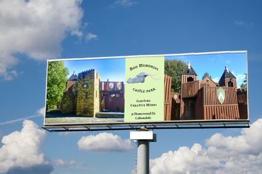 Castle Park Billboard by CharlesWayneRobinson