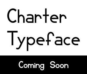 Charter typeface -teaser- by lopagof