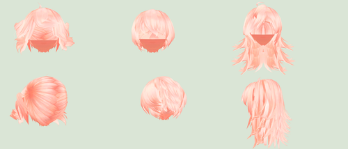 MMD TDA Hair edit 5 by Ni-chyP