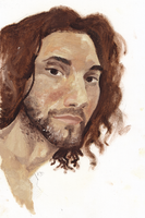 Dan Avidan Painting by threatened-angel